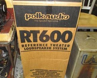 Polk audio stereo speakers