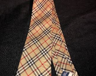 Bruberry Manston Check Silk tie