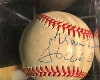 Hank Aaron Baseball