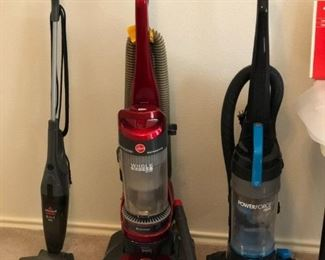 Vacuum Cleaners- Small One Sold