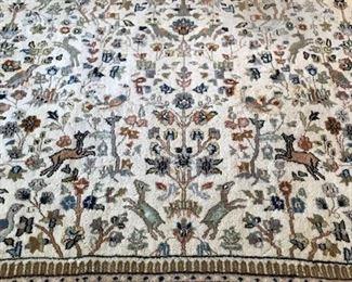 rug pattern detail