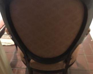 carter divan chair back