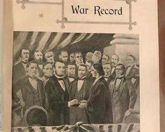 war record book front photo