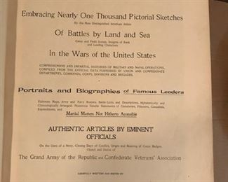war record book front page