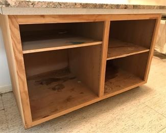 laundry room cabinet -- granite on top sold separately