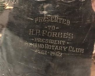 forbes rotary tray detail