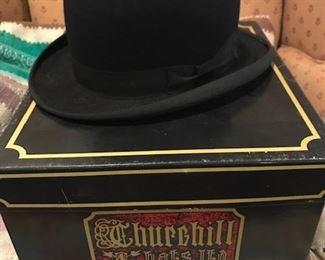 vintage bowler hat #1