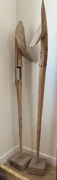 Antique Plow from India