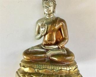 "$75 Buddha statue 7"" H by 5.25"" W"