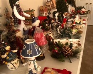 Think you have enough holiday decorations? Think again! There is always room for one more Santa!
