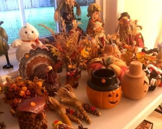 Just in time for cooler weather...Fall decorations!