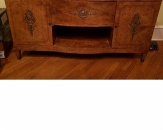 18th Century French Marble Top Sideboard