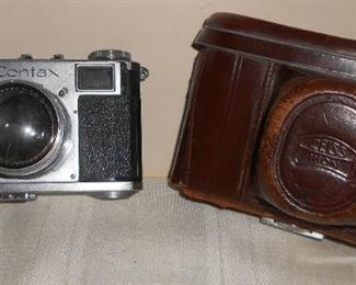 Zeiss Contax Camera and Case