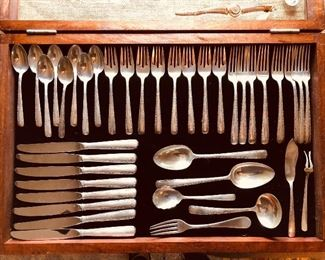 Gorham sterling flatware set