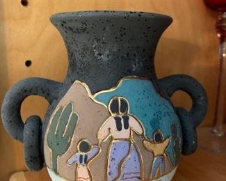 Southwest style pottery
