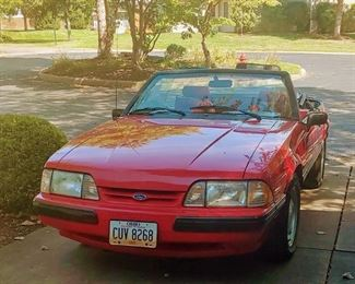 1991 Mustang LX.  5.0 engine.  66,500 orig. miles. New transmission has less than 1,000 miles, struts have less than 3,000 miles, tires, exhaust, regular maintenance throughout life of car.