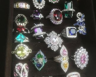 All Sterling silver
