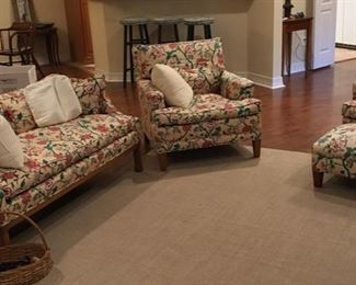 Darling Floral living room furniture!