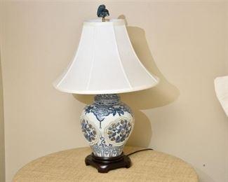 asian style lamp