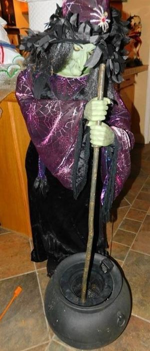 Life Size Animated Witch