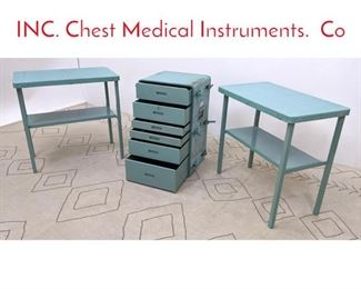 Lot 1013 ATLANTIC INDUSTRIES INC. Chest Medical Instruments. Co