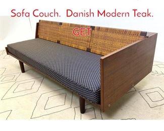 Lot 1018 HANS WEGNER Daybed Sofa Couch. Danish Modern Teak. GET