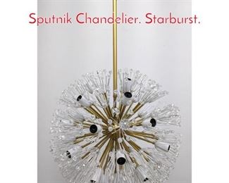 Lot 1027 Emil Stejnar Atomic Era Sputnik Chandelier. Starburst.