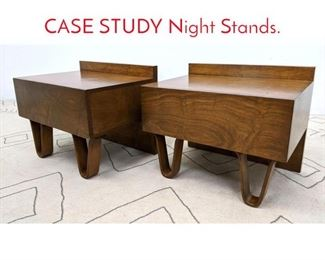 Lot 1046 MODERNICA Side Tables. CASE STUDY Night Stands.