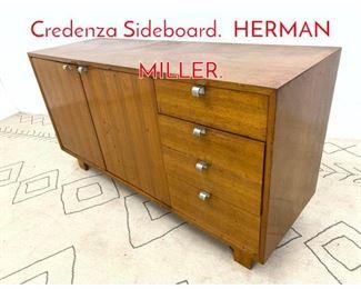 Lot 1085 GEORGE NELSON Credenza Sideboard. HERMAN MILLER.