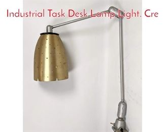 Lot 1088 CRES COR Swivelier Industrial Task Desk Lamp Light. Cre