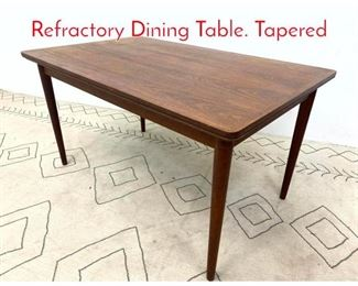 Lot 1122 SIBAST FURNITURE Teak Refractory Dining Table. Tapered