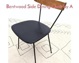 Lot 1151 CLIFFORD PASCOE Iron Bentwood Side Dining Chair by A