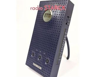Lot 1453 THOMSON RT 201 clock radio STARCK