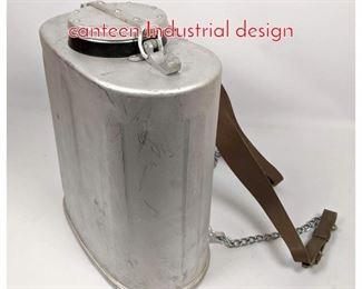 Lot 1459 Lg ALuminum Backpack canteen Industrial design