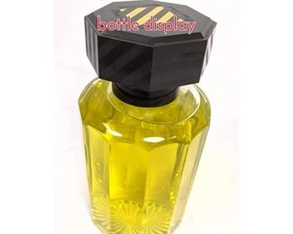 Lot 1461 Lg RICCI CLUB perfume bottle display