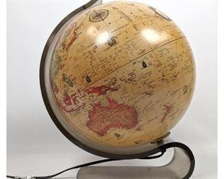 Lot 1476 GB 1990 light up Globe