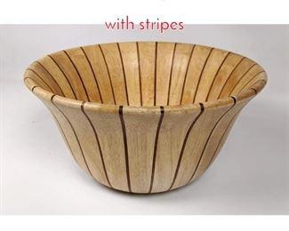 Lot 1483 DANSK Light colored bowl with stripes