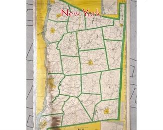 Lot 1485 Map of Duchess County New York.