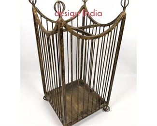 Lot 1497 Metal Umbrella stand wire design India