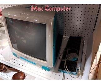 Lot 1521 Bondi Blue Original iMac Computer
