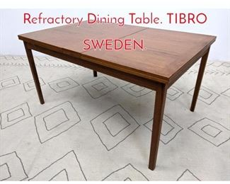 Lot 1218 SKARABORGS Teak Refractory Dining Table. TIBRO SWEDEN.
