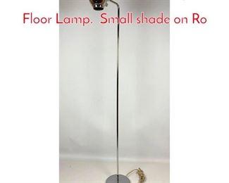 Lot 1225 Robert Sonneman Eye Ball Floor Lamp. Small shade on Ro