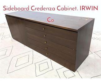 Lot 1246 PAUL McCOBB Calvin Sideboard Credenza Cabinet. IRWIN Co