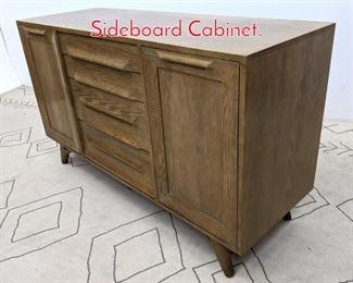 Lot 1253 Jack Van Der Molen Credenza Sideboard Cabinet.