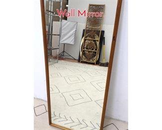 Lot 1257 Danish Modern Teak Framed Wall Mirror.