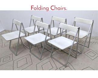 Lot 1286 SET 6 INTERLUBKE Folding Chairs.