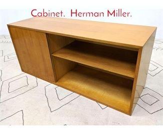 Lot 1302 GEORGE NELSON 1 Door Cabinet. Herman Miller.
