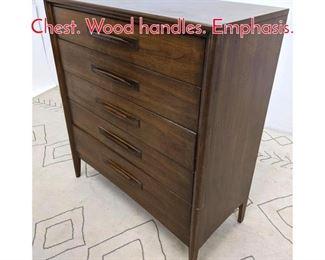 Lot 1338 BROYHILL Premier Dresser Chest. Wood handles. Emphasis.