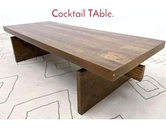 Lot 1342 Heavy LANE Coffee Cocktail TAble.