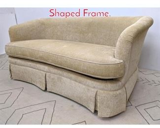 Lot 1364 Nice SHERRILL Sofa Couch Shaped Frame.